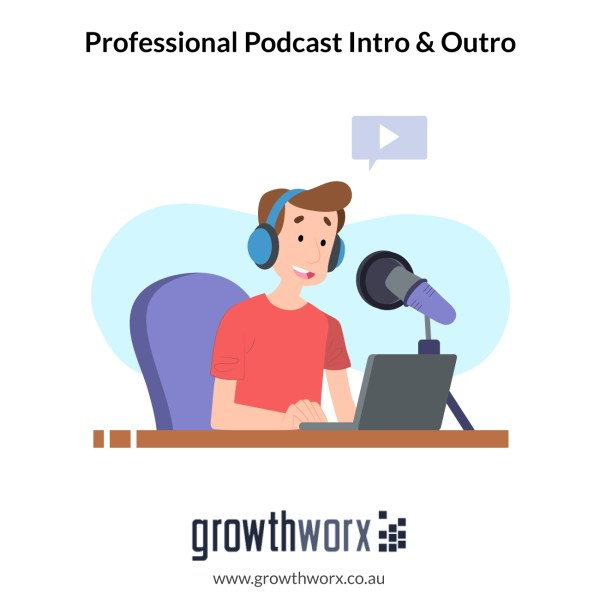 I will record a professional podcast intro and outro 1