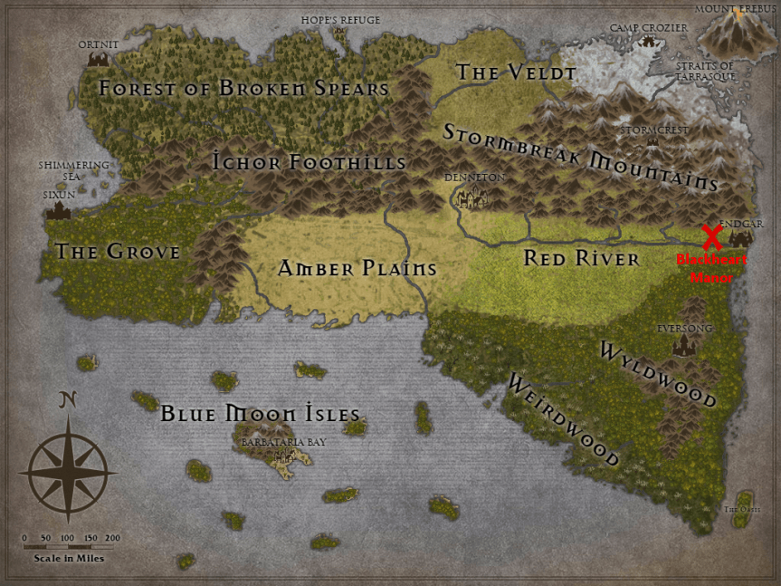The Tanius Campaign Journal – Chapter 15: Blackheart Manor