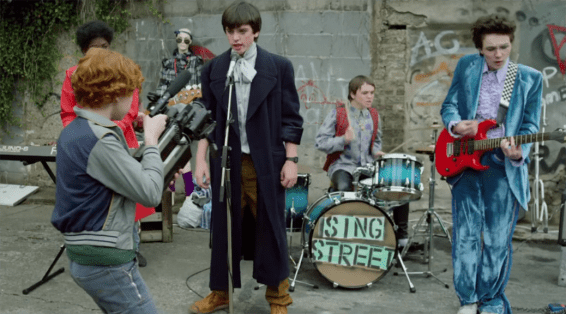 sing street in text image