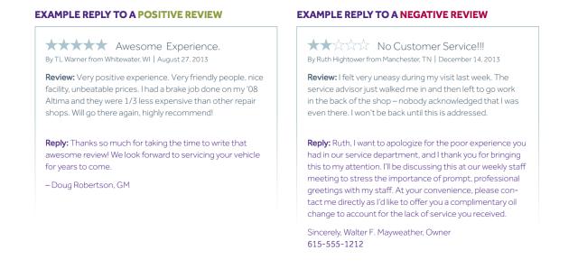 servicews reviews example