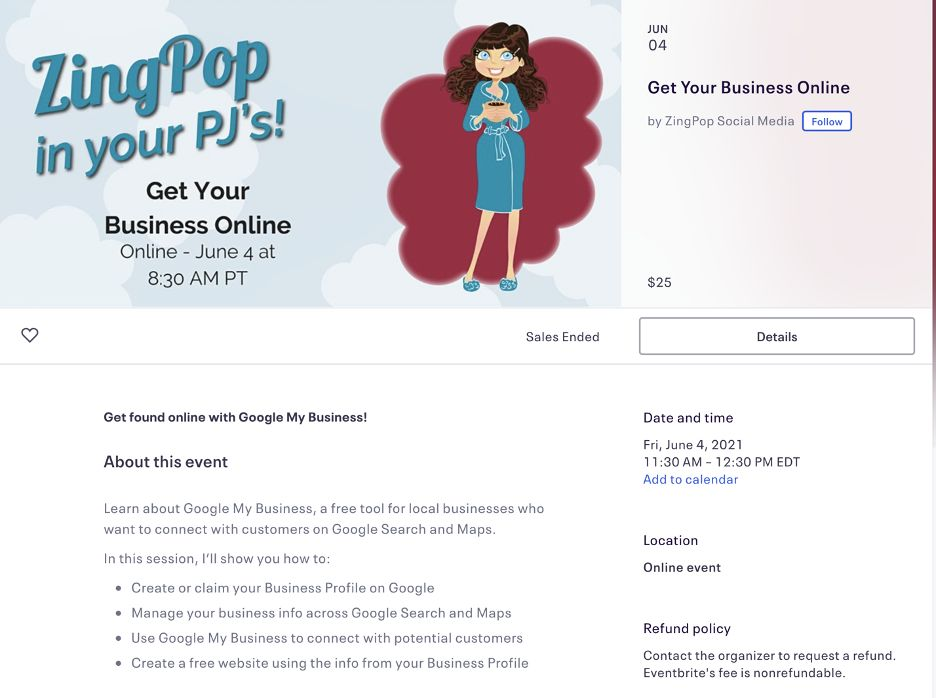 zingpop social online event invitation wording sample   How to Create Virtual Event Invitations That Wow Attendees
