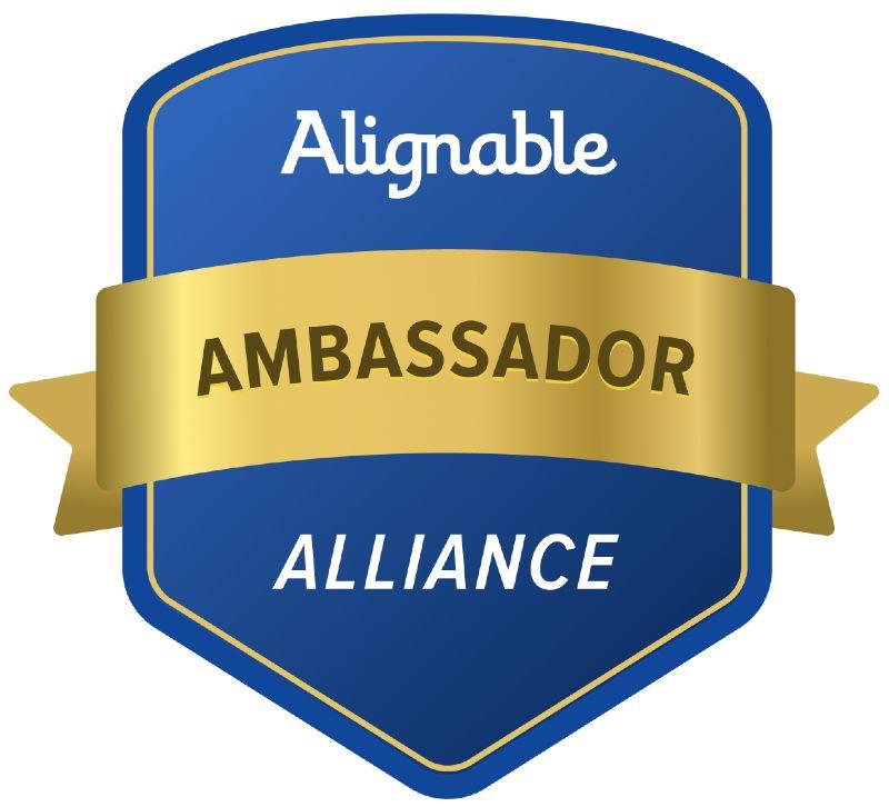 alignable ambassador badge