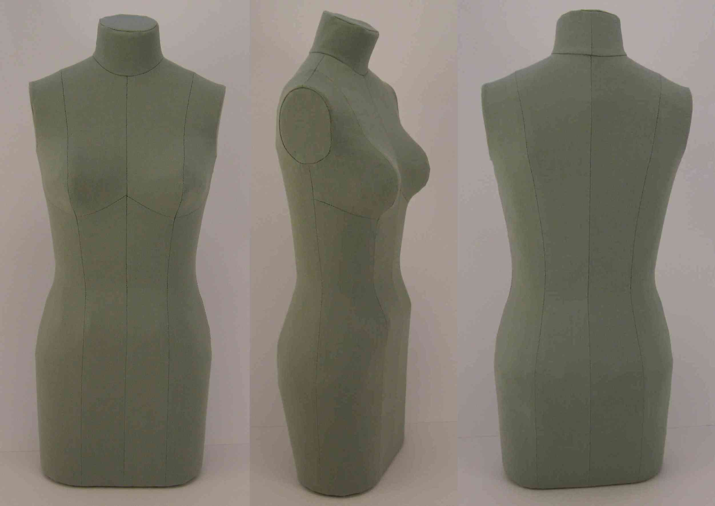 Another Half Scale Dress Form Grow Your Own Clothes