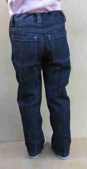 Jagger jeans back
