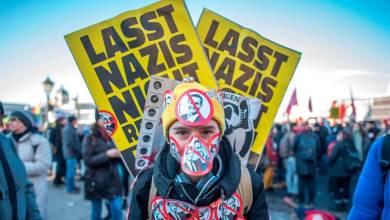 Photo de L'extrême droite autrichienne en réalité augmentée