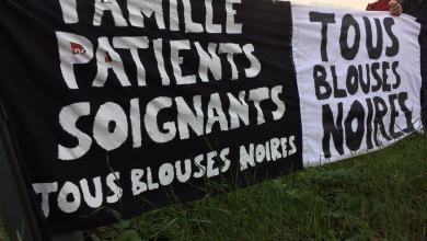 Photo de Blouses Noires, soignants en deuil