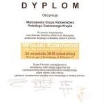 Dyplom - Wolski Korowód