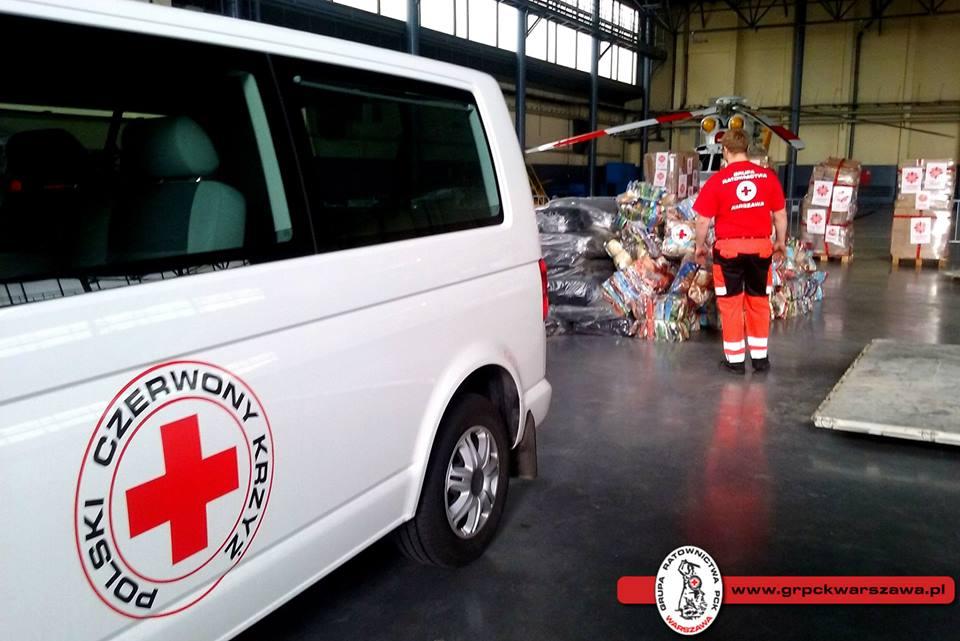 pomoc humanitarna dla Nepalu