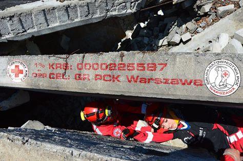 Przekaż 1 procent podatku dla GR PCK Warszawa