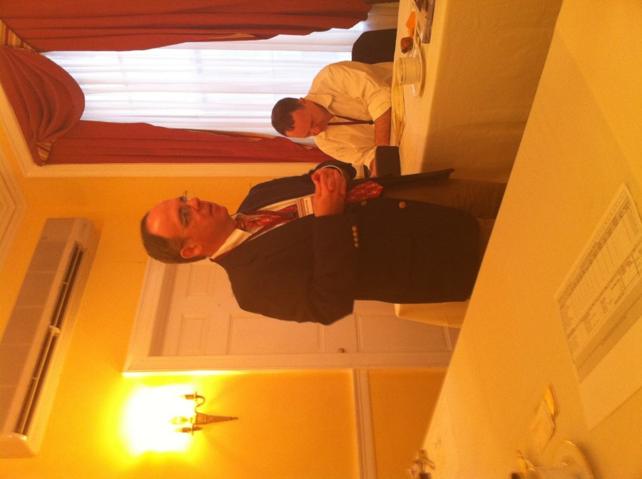 George Petriccione at BNI