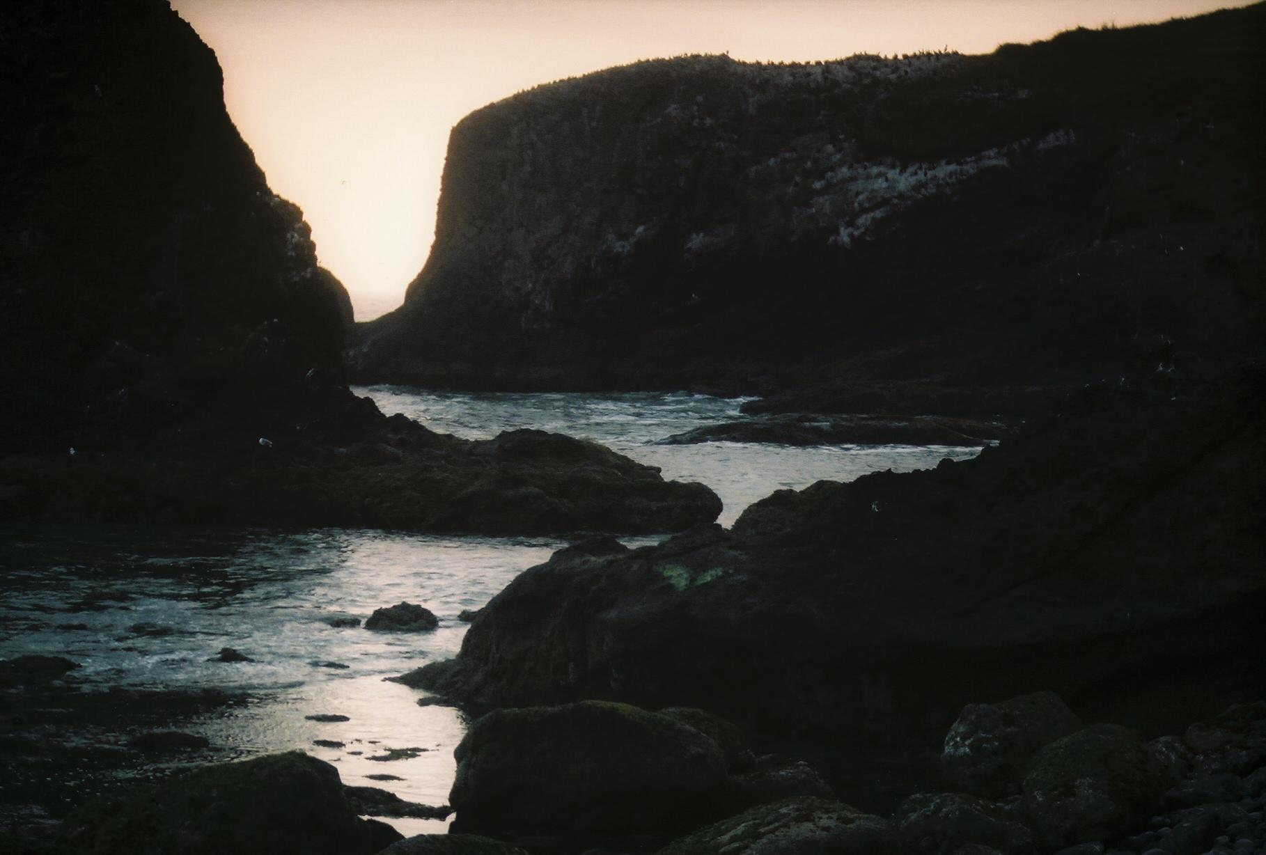 Pacific Coast rockiness