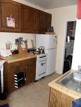 my manhattan apartment kitchen