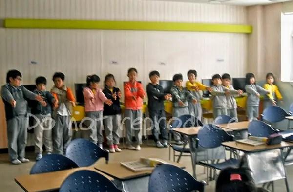 corporeal punishment in Korea, discipline in Korean schools, teaching English in Korea, Korean classroom