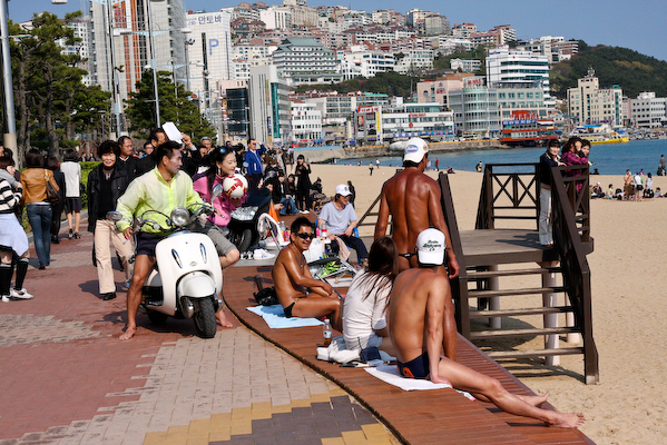 Busan Haeundae Beach sexy