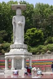 Bogeunsa temple seoul, biggest buddha in seoul