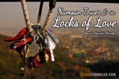 directions to namsan seoul tower, how to get to the locks of love, how to get to namsan seoul tower, romantic attraction in KOrea