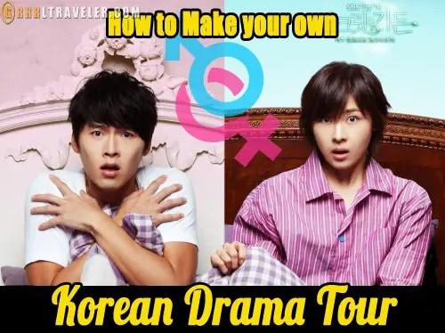 How to Make your own Korean drama Tour, korean drama locations