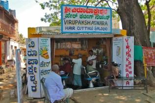Indian barber shop