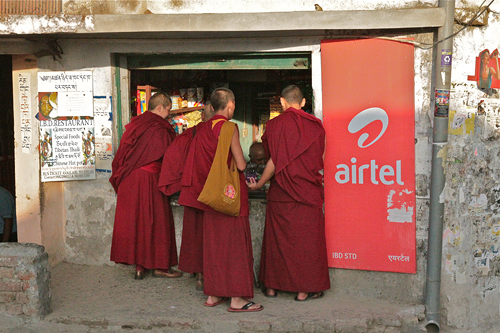 Monks in Dharamsala