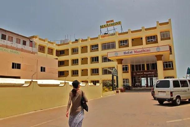 hotel maadhini, kanyakumari