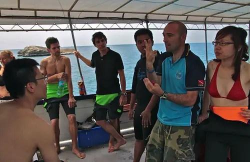 Scuba Diving in Ko Tao, Thailand