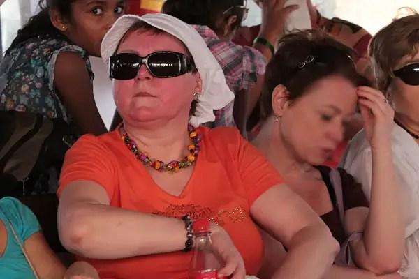 sunburnt tourist, sunburn, bad tourists