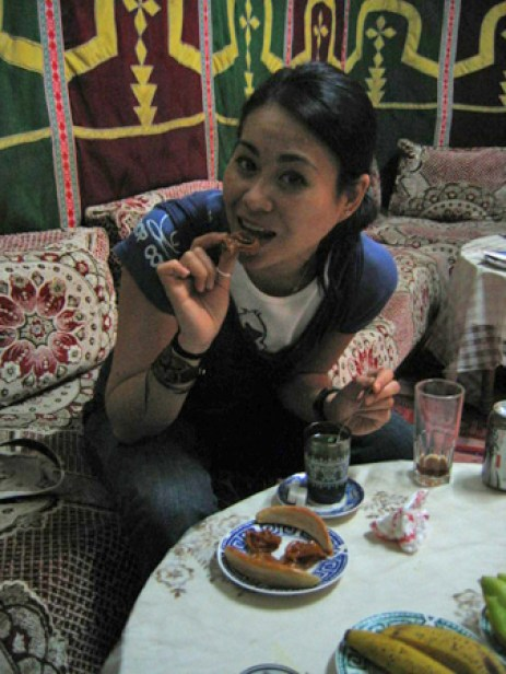 eating in morocco