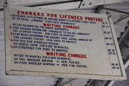 indian porter charges