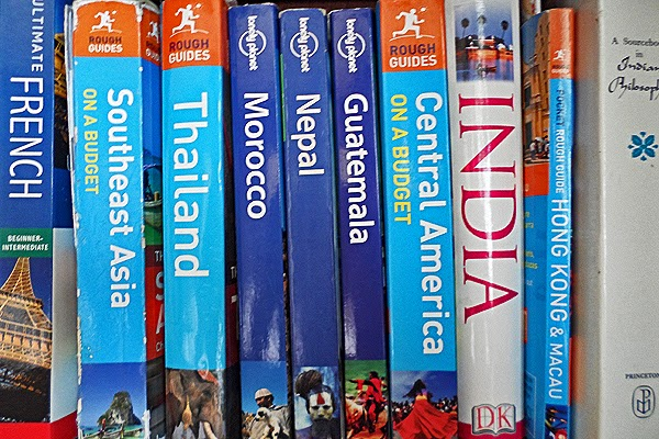 guidebooks, lonely planet, guidebooks