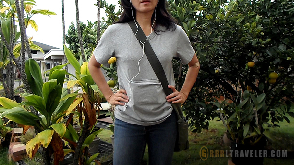 clever travel companion tshirt review, travel safety clothes, pickpocket proof, against travel theft