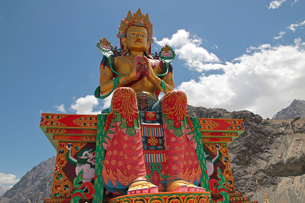 giant maitreya buddha nubra valley ladakh, what to do in ladakh, ladakh travel guide, what to do in hundar diskit,  ladakh guide, samsara film, 8 must see reasons to go to ladakh, experience heaven at ladakh india