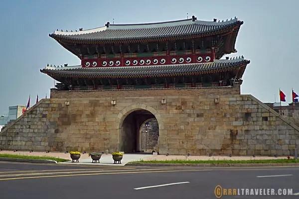 suwon city walls, suwon korea, things to do in suwon, suwon attractions