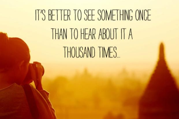 travel quotes, travel inspiration, better to see something quote
