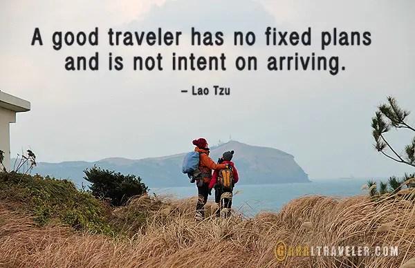 travel quotes, travel inspiration, a good traveler