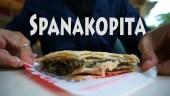 spanakopita, greek spinach pie, greek street food, street foods greece