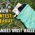 Banjees Wrist Wallets review giveaway