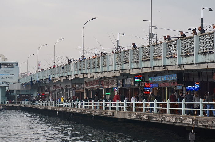 Galata Bridge, Galata Bridge Istanbul