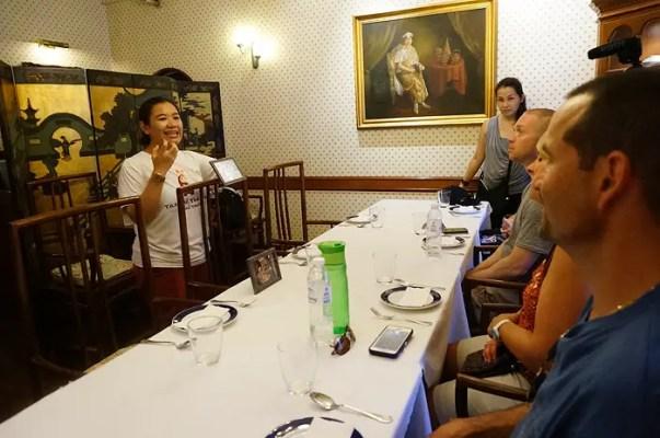 thanying restaurant menu, thanying restaurant bangkok, royal thai cuisine