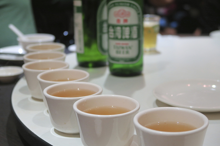 taiwanese beer and tea