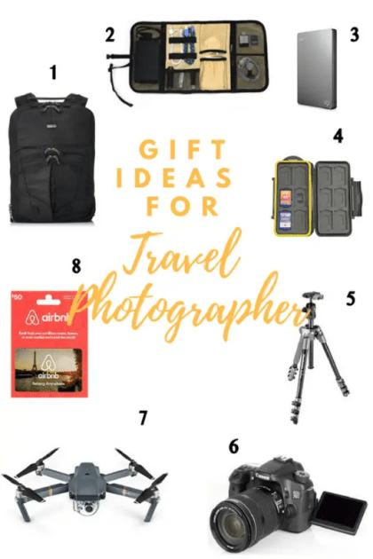 travel photographers, travel photography, gift ideas for travel photographers