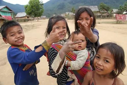 lao kids