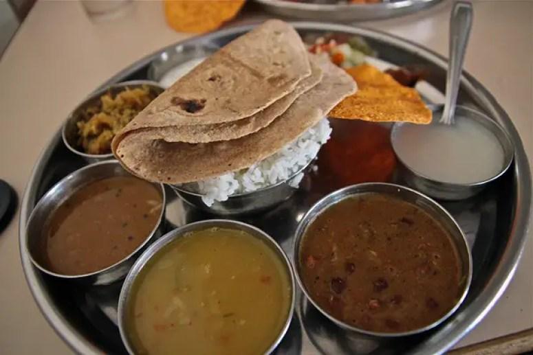 indian thali, indian food