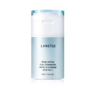 Laneige White Plus Renew Snow Crystal Dual Foundation, song hye laniege snow, best bb cream to buy, bb cream in korea, skin care and beauty in korea, hallyu beauty secrets