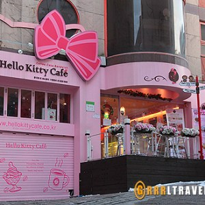 Hello Kitty Cafe Seoul, theme cafes in seoul, theme cafes in asia