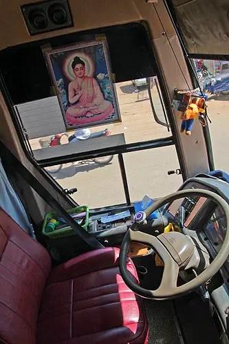 Cambodian bus