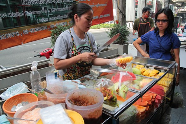 thai street food hawker
