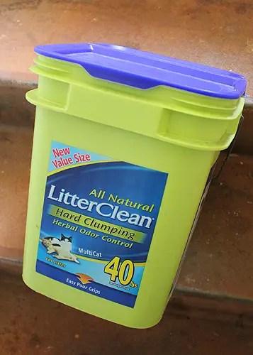 litter clean kitty litter