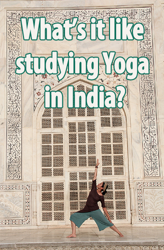 studying yoga in india