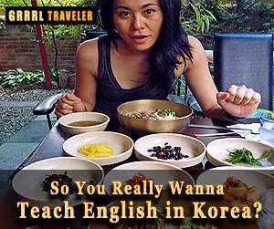 Want to teach English in Korea, why teach in Korea