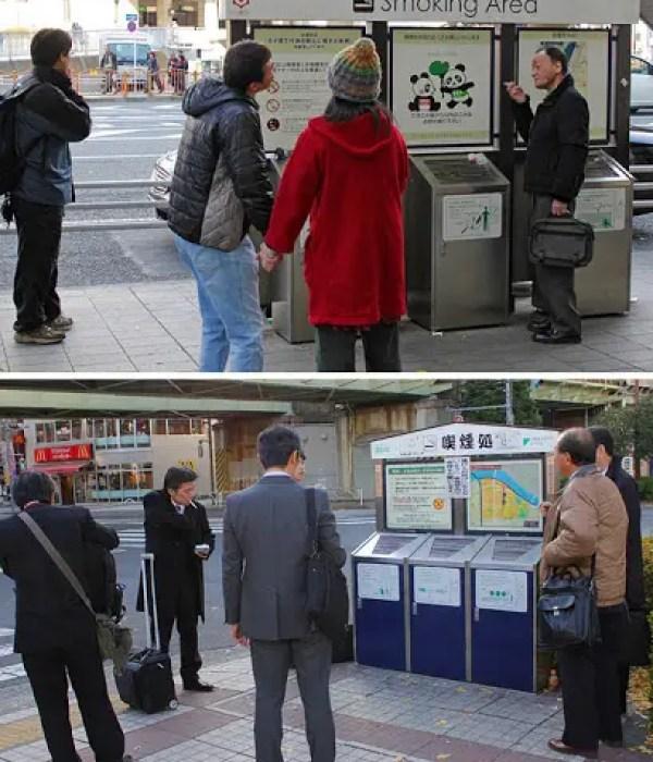Japan's No smoking areas